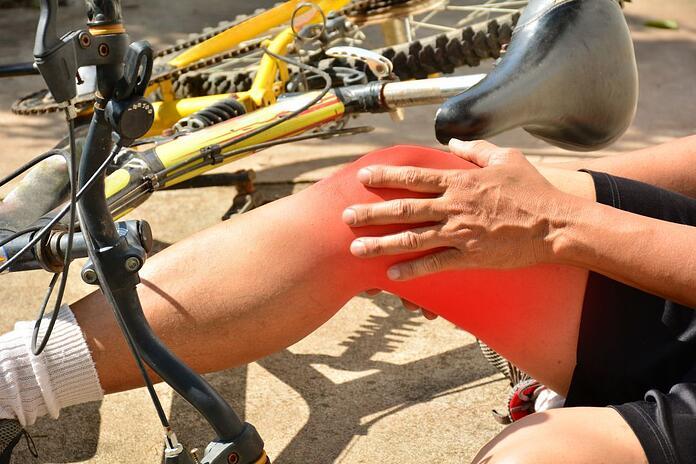cycling impact and crash injuries
